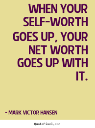 self worth=net worth